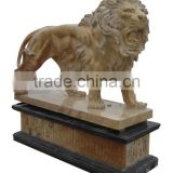 Large Outdoor Stone Lion Statue