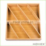 Eco Durable Bamboo Organizer Tray/Homex_BSCI