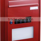 wholesale solar mailbox/ letter box with led house number light