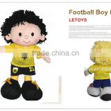 "Most popular 15"" boy doll funny Football toy"