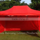 10x20ft PVC water-proof steel stretch tent fabric folding gazebo canopy dome tent