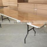 wooden folding conference table
