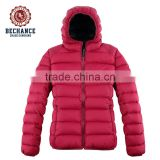 Products feature breathable keeping warm China OEM wholesale ultralight hoodie women down jacket for winter