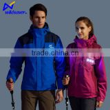 New Outdoor Safety LED Waterproof pullover windbreaker jacket