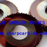 Metal Saws with Staggered Teeth, Tungsten Carbide Saw Blade, Solid Carbide Saw Blade, Solid Carbide Circular Saw Blade