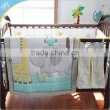 Printed patchwork baby quilt patterns with New European Style /baby duvet / baby bedding set
