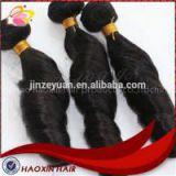 For Black Women Afro Curl Malaysian Hair Straight Wave No Shedding Fade Weave Bundles Double Drawn 100% Human Hair