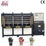 Dongguan kpu glove upper heating pressing machine