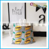 Elinfant Baby Stroller Blanket Baby Cuddly Knit Cable Blanket beautiful lemon printed Blanket