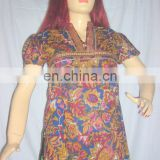 exclusive indian designer printed cotton fashionable kurtis wholesale india selling in China usa