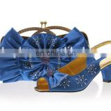 New arrival fashion italian women matching shoes and bags