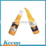 Advertising Promotional PU beer bottle stress ball