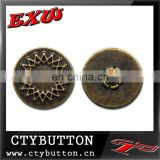 CTY-SO262 plastic insert metal button