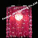 Foshan JNY Lighting pink Beaded Hanging Chandelier for Wedding Chandeliers Centerpieces Decorations and Event Party Decor