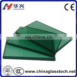 "building grade low iron float 2"" thick plate glass"