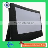 outdoor rear projection inflatable movie screen inflatable advertising screen                                                                         Quality Choice