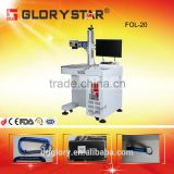 Fiber Laser Engraver Name Plate Jewelry Marking and Cutting Machine