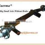 0.75t rubber torsion axle