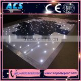 ACS Popular indoor led dance floor tiles twinkle wedding hall dance floor/Colorful LED Dance Floor