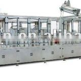 ISBM Plastic bottle I.V. Solution blowing, washing filling and sealing monoblock machine