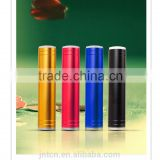 New-design coloful with high bright LED torch flashlight mini power bank 2600mah power bank