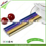 hottest & newest cbd oil cartridge 510 glass/ bud touch atomizer/ new-style disposable e cigarette