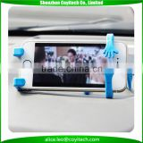 Car vent universal phone holder pvc+ metal bendable flexible stand mount