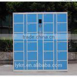 Factory price Popular blue safe barcode locker/digital storage locker