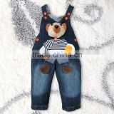 Latest Bear Pattern Boys Jeans Autumn Trousers
