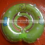 PVC inflatable neck ring for baby swimming,inflatable baby neck ring float for promotion