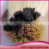 Pre-bonded Hair Extension Brazilian Kinky Curly I tip Brazilian Hair Extension 100Keratin Tip Human Hair Extension