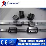 China hot sale slide block bearing linear slide rail guide made in lishui bearing factory
