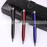 Super quality hotel branded personalized gift metal ball pen