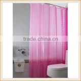 Colorful China supplier 3d peva shower curtain