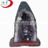High Quality Natural Brazil Amethyst Geode Purple Quartz Crystal Large Geode for Sale