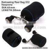 2015 Neoprene baitcasting fishing reel bag