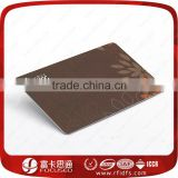 PVC Smart Card 5542 Chip Writable Card Contact Plastic PVC RFID Card