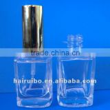 New New arrival Best saleempty glass nail polish bottles Manufacture Gold supplier wholesale