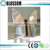 bedroom decor butterfly shaped mirror desktop makeup cosmetic mirror                                                                                                         Supplier's Choice