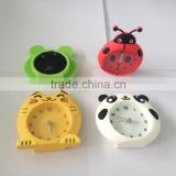 customized cat design Silicon mini 3D alarm table clocks gifts