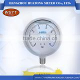 China Manufacture Chemical processglass or acrylic pressure medical Industrial Capillary Temperature Gauge With U-clamp