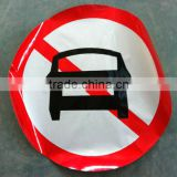 3m printable traffic signs,Reflective triangle warning portable traffic signs,safety traffic signs,folding traffic signs