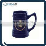 Customized Printed Coffee Mugs Ceramic Cugs Cups Dark Blue