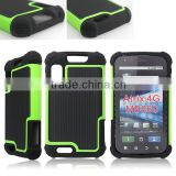 Three layers combo case cover for Motorola Atrix 4G MB860