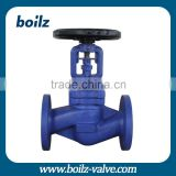 PN16 medium temperature flange connection shutoff valves