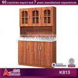 K813 flat pack and easy assemble cheap kitchen cabinets