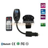 High quality A2DP Bluetooth fm handsfree car kit for mobile phones
