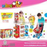 Hot sale best prices kids Supermarket Pretend Toys Play Set cash toy set hot selling toys