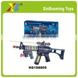 BO gun with sound and light play gun with infrared boy toy