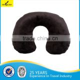 13408G Fleece Comfortable inflatable pillowTravel Neck Pillow